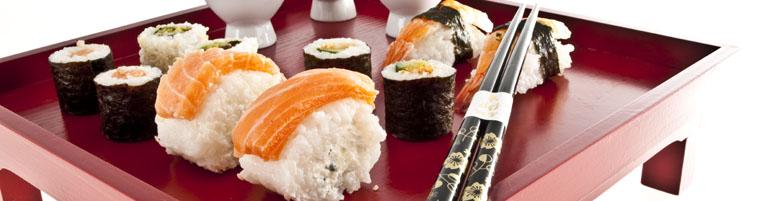 Sushi-Kompositionen