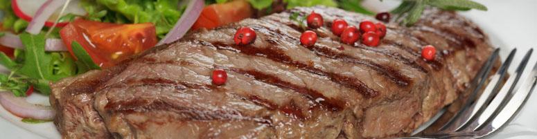 Steaks vom Rind
