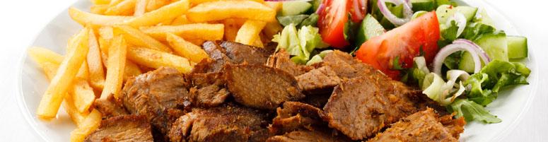 Gyros Gerichte