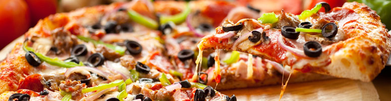 Hackfleisch Pizza