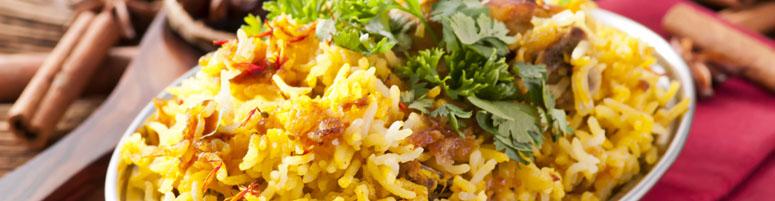 Reisgerichte Biriani