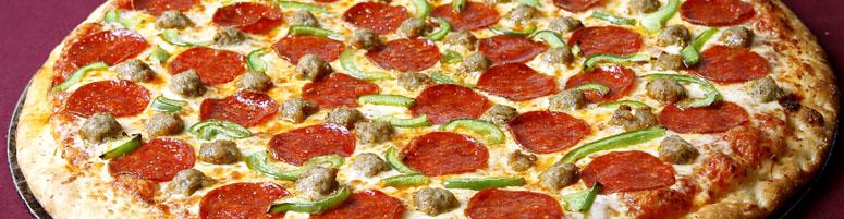 Pizza Rindersalami