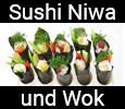Sushi Niwa und Wok